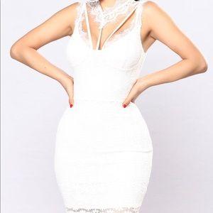 Dresses & Skirts - White lace dress
